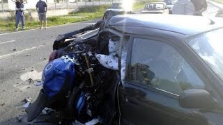 ДТП Последствие ужастной Аварии The consequence of the accident horrific accident