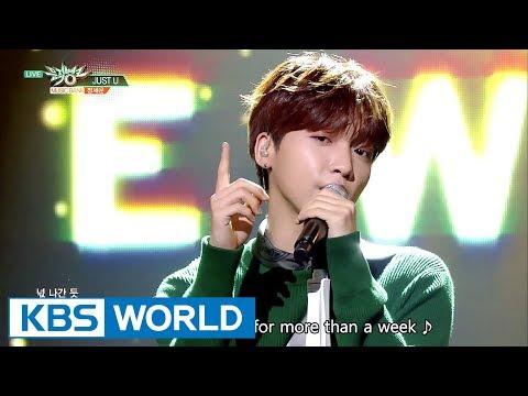 Jeong SeWoon (정세운) - JUST U [Music Bank / 2017.09.22]