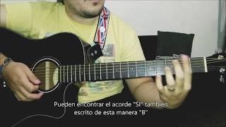 Guitarra Fácil  - Acordes DO RE MI FA SOL LA y SI