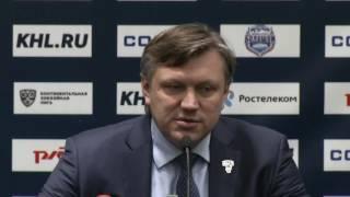 Сочи – Слован. Пресс-конференция тренеров