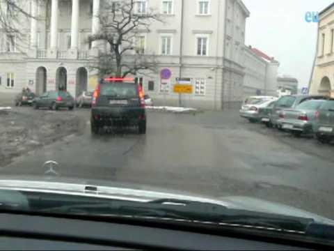 Dziurawe drogi w Kielcach