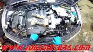 VW Passat Audi A4 Timing Belt Replacement DIY by Edge Motors