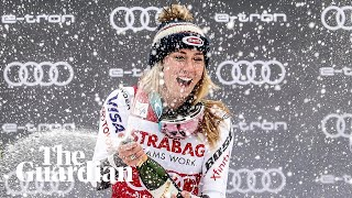 Mikaela Shiffrin breaks 30-year record for World Cup wins in a season