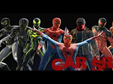 como conseguir trajes The Amazing Spider Man (esoañol) (GAR SR)