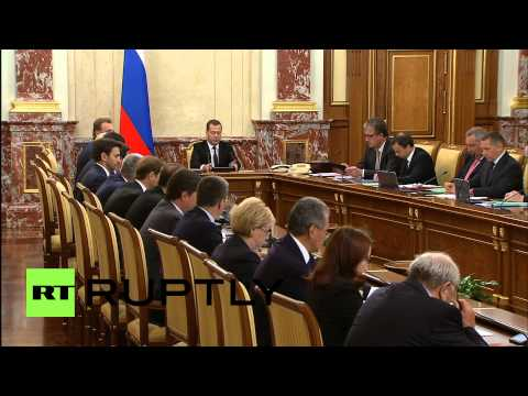 Russia: Medvedev hails Russia's economic resilience in face of