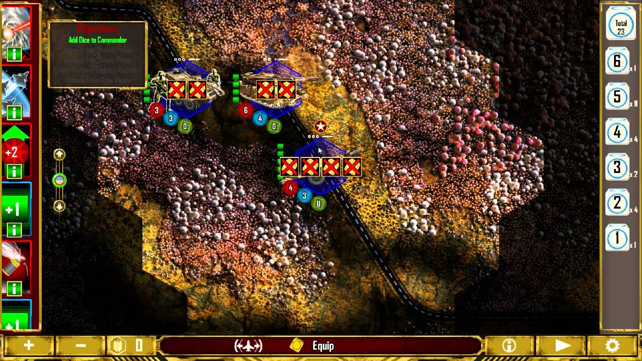 Let's play HEX Wargame Sword of the Stars: Ground Pounders ...