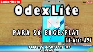 ROM!! ODEX LITE V3.1 PARA S6 FLAT /EDGE