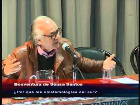 CONFERENCIA BOAVENTURA DE SOUSA SANTOS   UNRC