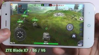 Смартфон ZTE Blade Z7/X7: тестируем в самых крутых 3D играх