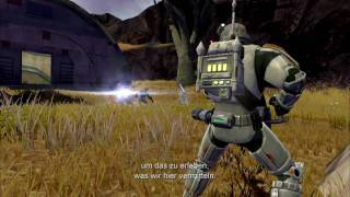 Star Wars The Old Republic - Combat [HD] German Subtitles