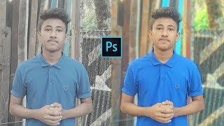 Photoshop Tutorial: How to Make your Photos LOOK BETTER FAST! (DSLR Effect 2018)