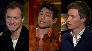 Fantastic Beasts: Crimes of Grindelwald Cast Reveals Dumbledore