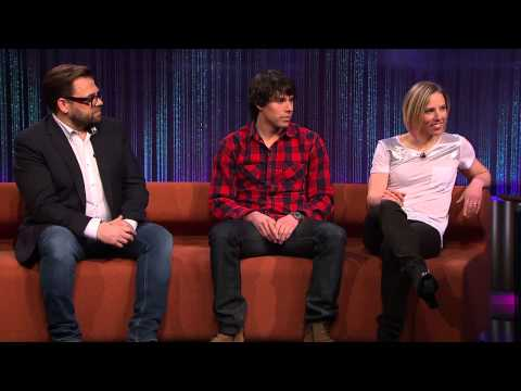 Alex Harvey & Kikkan Randall on Senkveld (Late Night) with Thomas & Harald