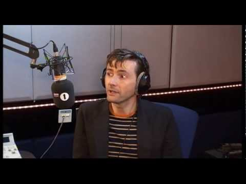 David Tennant chats Doctor Who with Chris Moyles