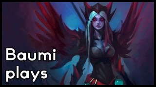 Dota 2 | KILLING 12 MAJOR BUILDINGS IN ONE PUSH!! | Baumi plays Vengeful Spirit