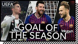 SHORTLIST UEFA GOAL OF THE SEASON 201819