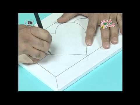 Manualidades Van  Gogh   Caja pachwork sin agujas 1