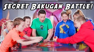 Secret Bakugan Battle! Ninjas vs Superheroes!