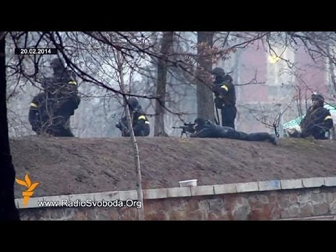 Ukraine protesters killed under Yanukovych's 'direct leadership'