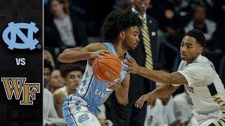 North Carolina vs. Wake Forest Basketball Highlights (2018-19)
