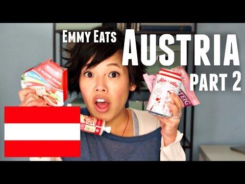 Emmy Eats Austria part 2 - tasting more Austrian snacks