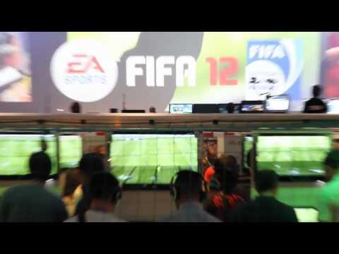 FIFA 12 à la Gamescom 2011