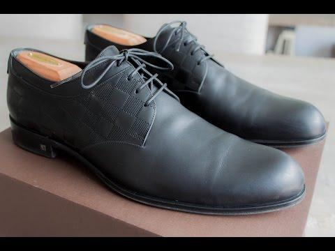 Louis Vuitton mens dress shoes review/unboxing- Felix Fashion Reviews