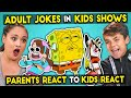 Parents React To Kids React To Funny Adult Jokes In Kids Shows