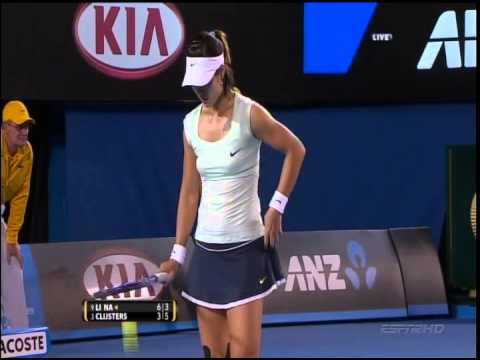 Australian Open Women's Final 2011-Kim Clijsters vs. Na Li