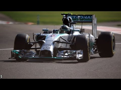 Nico Rosberg beats Lewis Hamilton in Abu Dhabi practice