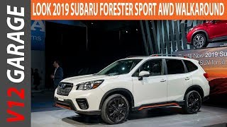 LOOK !! 2019 Subaru Forester Sport AWD Walkaround