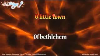 Watch Emmylou Harris O Little Town Of Bethlehem video
