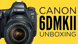 Canon 6D Mark II Unboxing