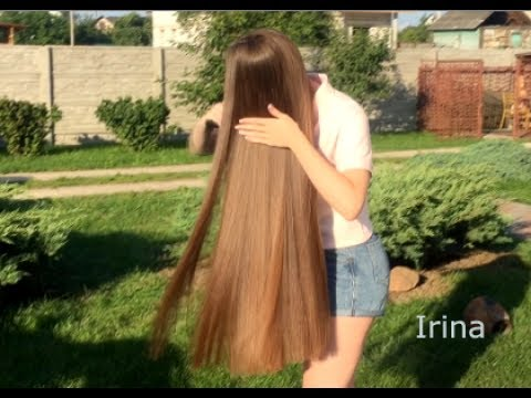 Irina's first videoshoot for LTRESS ! - one of the World's most beautiful long manes !