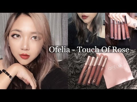Golden Summer Make Look + Ofelia Touch Of Rose Swatch & Review