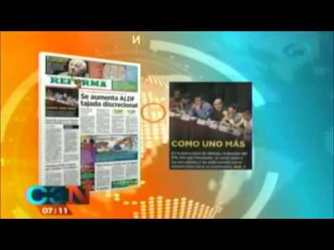Así amanecieron hoy 25 de noviembre los periódicos más importantes de México