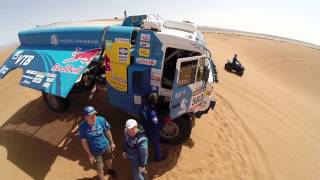Team KAMAZ-master. Training in Morocco 2014
