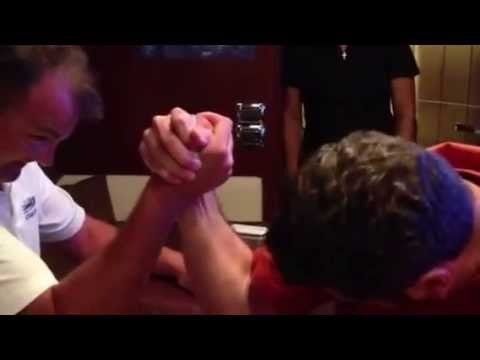 ARM WRESTLING ON A YACHT PART II