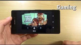 Sony Xperia M4 Aqua Gaming Review - GTA San Andreas!