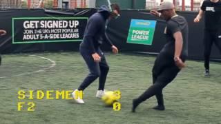 GOGGLE FOOTBALL | SIDEMEN VS F2 FREESTYLERS