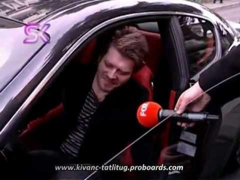 Kivanc Tatlitug in His Maserati