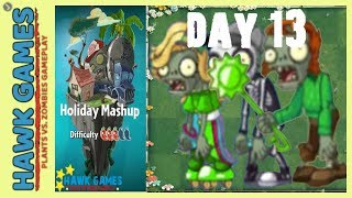 Plants vs. Zombies 2 - Holiday Mashup World by AB Fan 1000  - Day 13 (Last Stand)