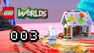 CANDYLAND & BUNTE HÄUSER !! - Let's Play Lego Worlds Gameplay #003 [Deutsch] [60FPS]