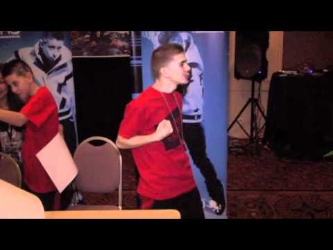 Mikey & Madison of The Iconic Boyz lip-sync to
