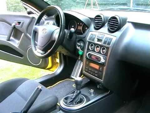 Hyundai Coup 233 Tiburon Tuscani 2003 Video Youtube