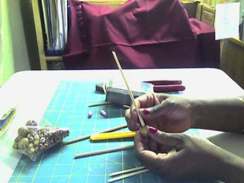How to Make a Home Made Paper Bead Roller/Tool