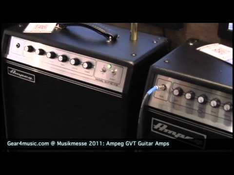Musikmesse 2011: Ampeg Demonstrate the GVT Guitar Amps for Gear4music.com