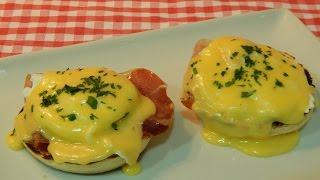 Receta de huevos benedict paso a paso
