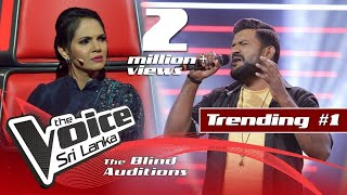 Roy Jackson - Uyire Uyire | Blind Auditions | The Voice Sri Lanka