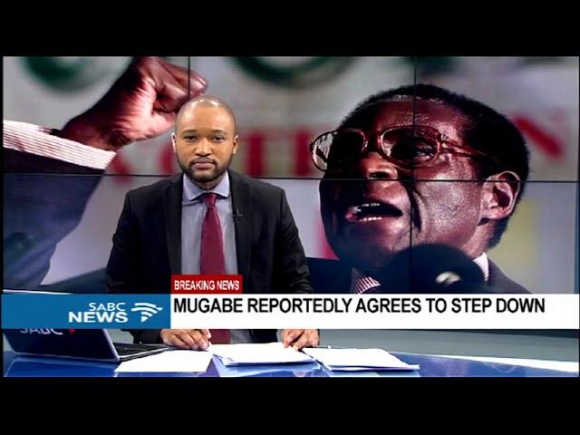 Mugabe resignation announcement expected shortly